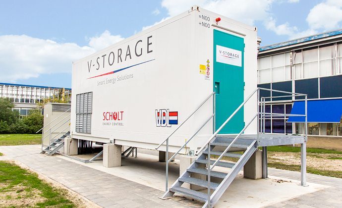 V-Storage energy storage system project