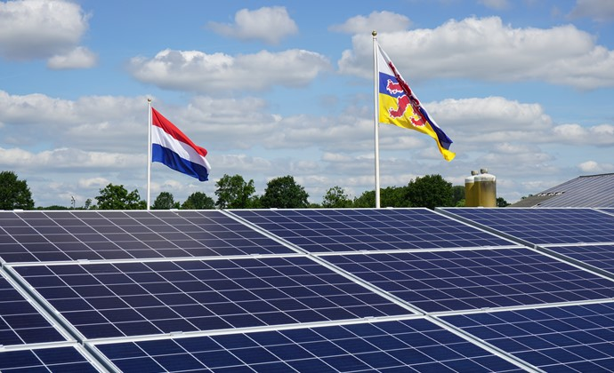 Solar farm and energy storage project in Weert